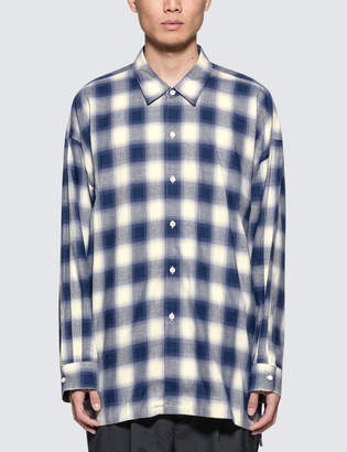 Monkey Time Checkered Long Shirt