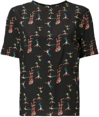 Etro circus print blouse