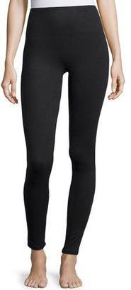 Spanx Essential Stretch Leggings, Very Black $98 thestylecure.com
