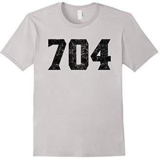 704 Area Code Charlotte NC Graphic T-Shirt