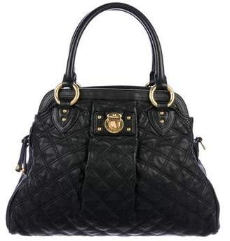 Pre Owned At Therealreal Marc Jacobs Quilted Leather Satchel