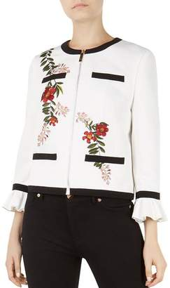 Ted Baker Aimmii Embroidered Jacket