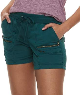 Sonoma Goods For Life Women's SONOMA Goods for Life Zipper Accent Pull-On Utility Shorts