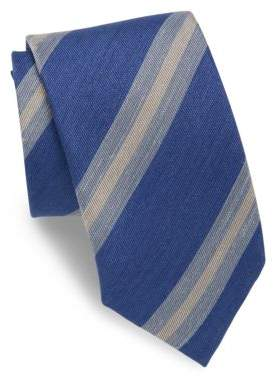 Charvet Striped Silk Blend Tie