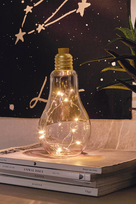 Urban Outfitters Bulb Firefly Table Lamp