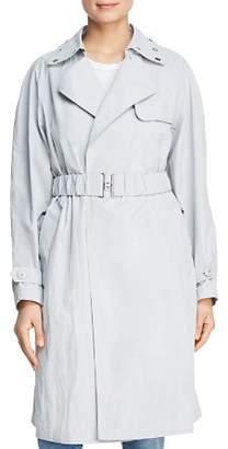 Donna Karan Grommet Collar Trench Coat
