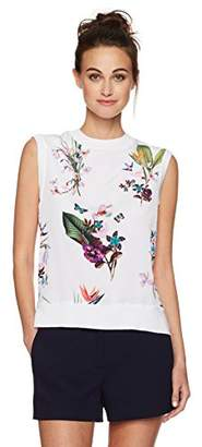 Ted Baker Women's Pueto Tropical Oasis Jumper