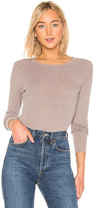 Sundry Fitted Long Sleeve Top