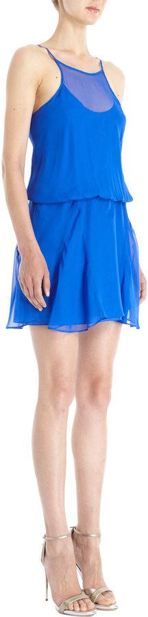 Mason by Michelle Mason Racerback Tank Dress