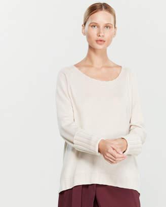 Liviana Conti Raglan Cuffed Oversized Sweater
