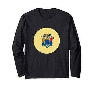 New Jersey State Flag Long Sleeve