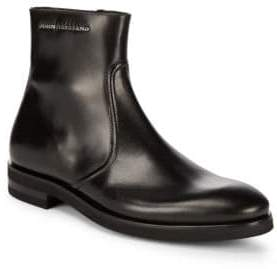 John Galliano Side Zip Leather Boots