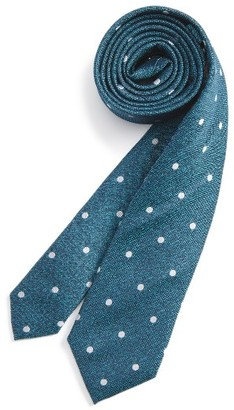 Boy's Michael Kors Dot Silk Tie $36 thestylecure.com