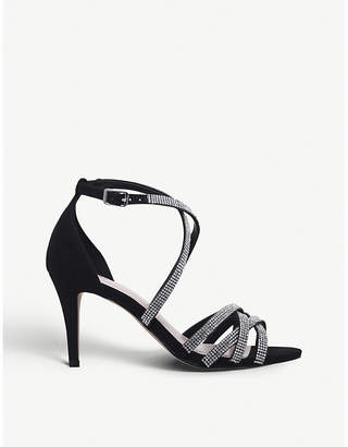 Nine West Diva diamante-embellished heeled sandals