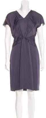 Stella McCartney Short Sleeve Knee-Length Dress