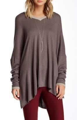 Portolano Oversized V-Neck Sweater