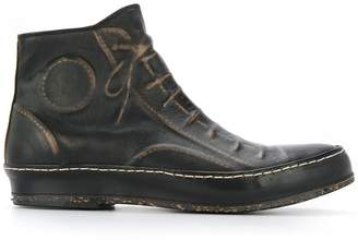 Miharayasuhiro boots with embossed shoe details