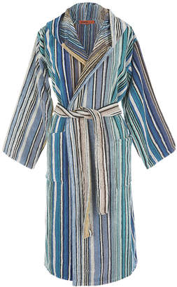 Missoni Home Tabata Hooded Bathrobe