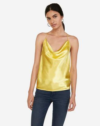 35083d54bf3 Express Yellow Women's Tops - ShopStyle