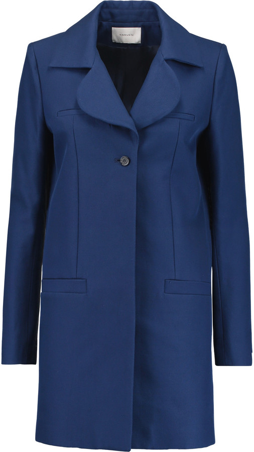 Carven Carven Cotton-twill coat