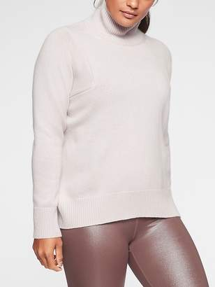Athleta Bedford Wool Cashmere Turtleneck Sweater