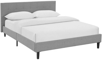 Modway Linnea Upholstered Fabric Bed