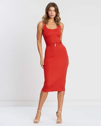 Atmos & Here ICONIC EXCLUSIVE - Stacey Jersey Belted Dress