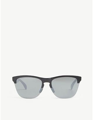 fd01ce6408283 Oakley OO9374 Frogskins Lite cat-eye frame sunglasses