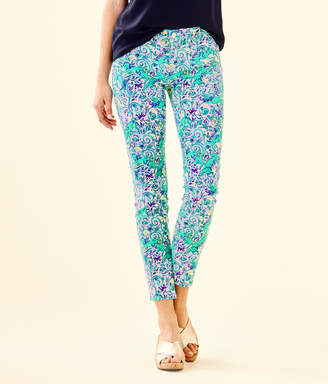 "Lilly Pulitzer 29"" South Ocean Skinny Jean - Crop"