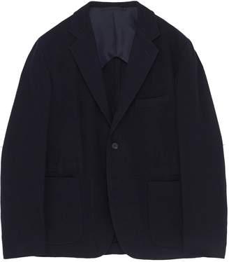 Camoshita Wool blend herringbone soft blazer