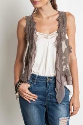 Umgee USA Chic Lace Vest