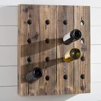 Laurèl Foundry Modern Farmhouse Avignon Hanging Wine Rack