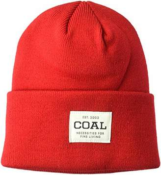 Coal Men's The Uniform Fine Knit Workwear Cuffed Beanie Hat