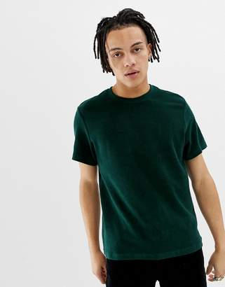 Weekday Towel t-shirt in green
