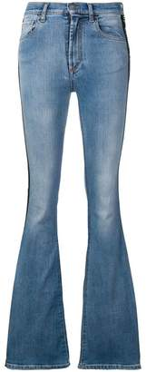 Marcelo Burlon County of Milan Vintage wash bootcut jeans