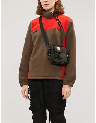 Stussy Funnel neck fleece sweatshirt