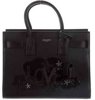 Saint Laurent Baby Love Sac De Jour Souple Bag w/ Tags