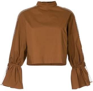 Aula high neck blouse