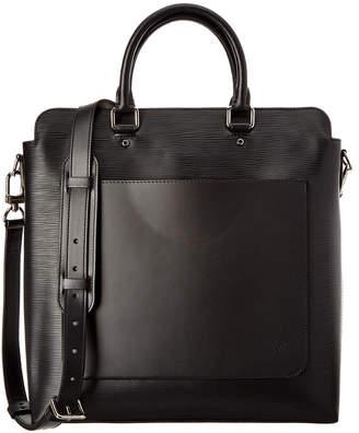 Louis Vuitton Black Epi Leather Brooks