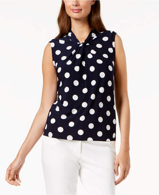 Tommy Hilfiger Polka-Dot Shell
