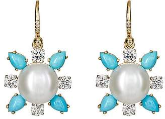 Irene Neuwirth Women's Mixed-Gemstone Drop Earrings