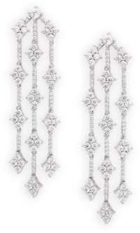 Lafonn Sterling Silver Embellished Drop Earrings