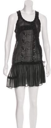 AllSaints Silk Sleeveless Dress