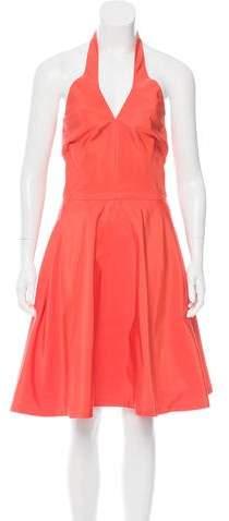 Ralph Lauren Collection A-Line Halter Dress