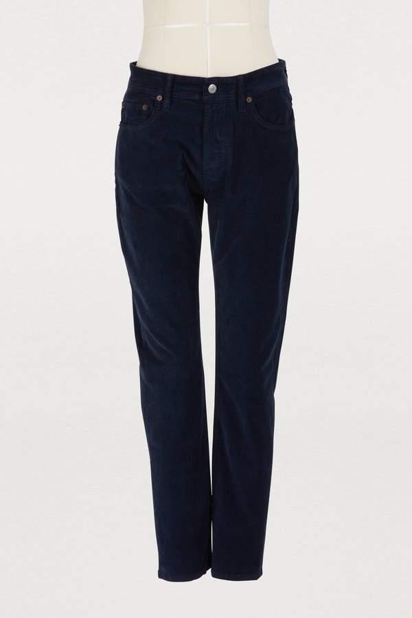 Melk slim-fit corduroy jeans