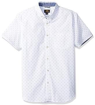 Lee Men's Tall Size Short Sleeve Woven Shirt