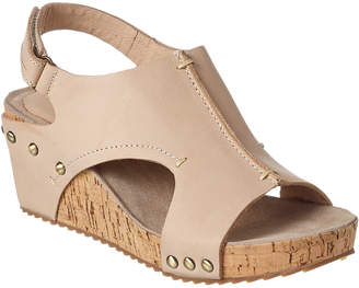 Antelope 554 Leather Wedge Sandal