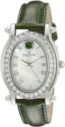 Croton Watches Women's CN207537GRMP Balliamo May Birthstone Analog Display Quartz Watch