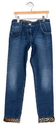 Dolce & Gabbana Girls' Five Pocket Jeans
