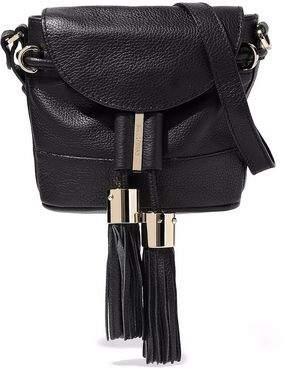 See by Chloe Vicki Mini Pebbled-Leather Shoulder Bag